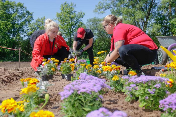 STIHLi stipendium Räpina Aianduskooli aedniku eriala õpilasele