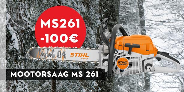 Mootorsaag MS 261